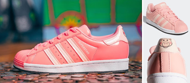 Adidas Toy Story Hamm Superstar Shoes