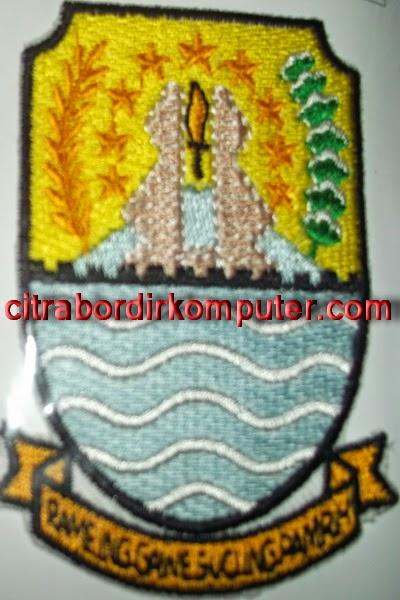 logo atribut bordir komputer PEMDA