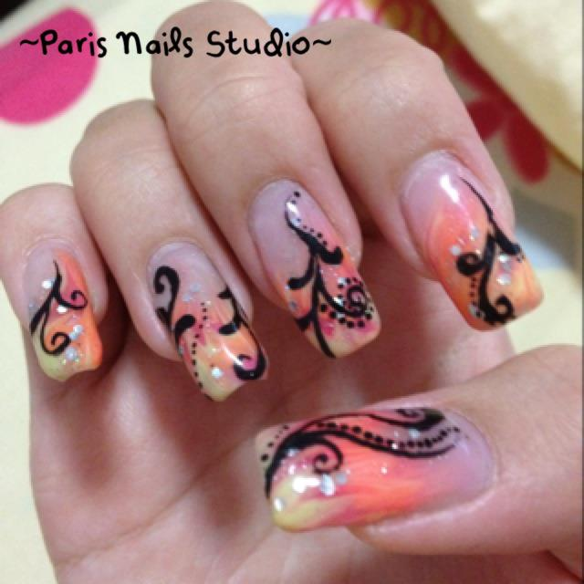 Nail Art Studio: Paris Nails Studio: ~Nail Art Design~