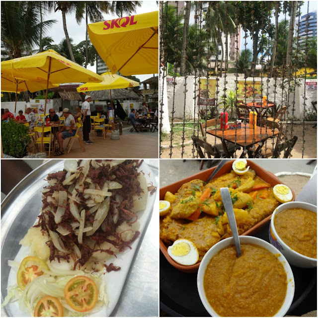 Onde comer e sair em Recife? Fruta Pão Comedoria e Praia