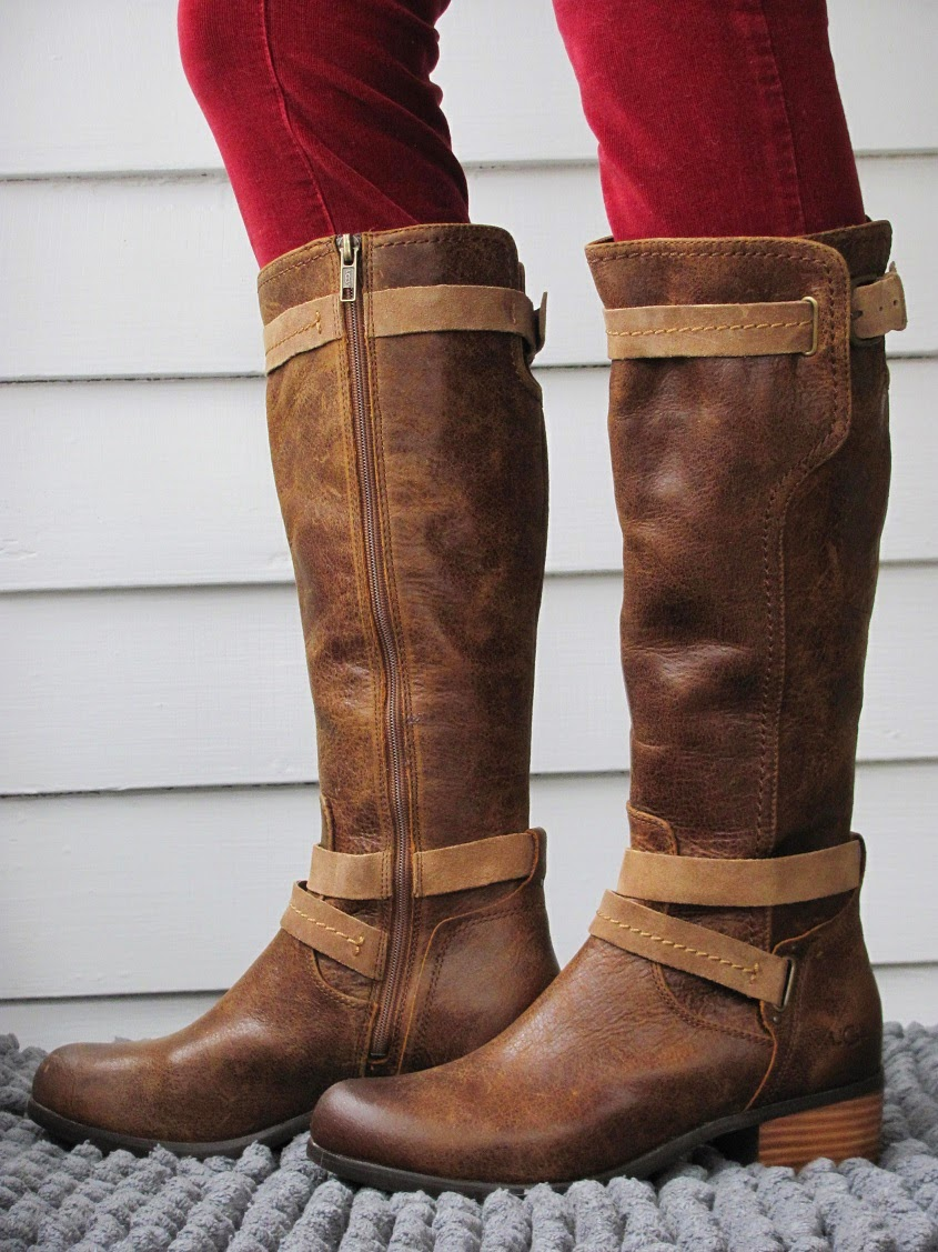ce3a0bba660 Howdy Slim! Riding Boots for Thin Calves: Ugg Darcie