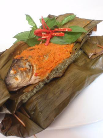 Resep Pepes Ikan Mas : resep, pepes, Berkreasi, Dapur, Mungil, Pepes