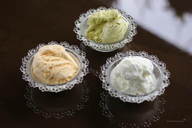 The Traveling Brown Bear - Magnolia Premium Ice Cream Avocado Pastillas Kesong Puti