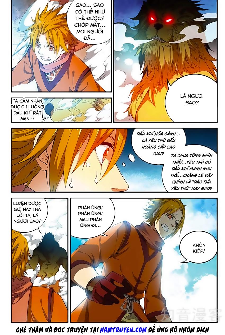 Đấu Phá Thương Khung Tiền Truyện - Truyền Kỳ Dược Lão chap 58 - Trang 8