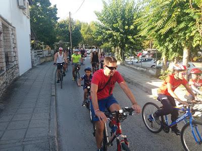 Πραγματοποιήθηκε η ποδηλατοβόλτα 30 χλμ. στη διαδρομή του Γύρου Λίμνης