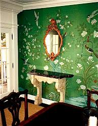 dining emerald walls bedroom rooms