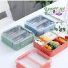 Lunchbox Stainless Steel 304 YKD 111 Anti Tumpah & Tahan Panas - BPA Free