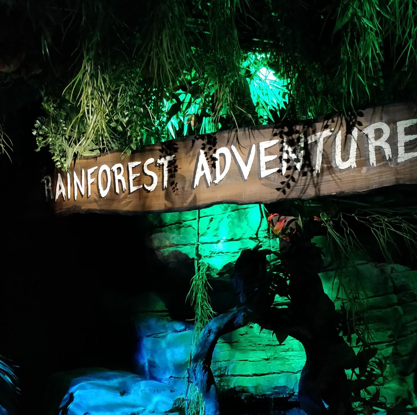 Enjoy a rainforest adventure at sea life london aquarium for Rainforest londra