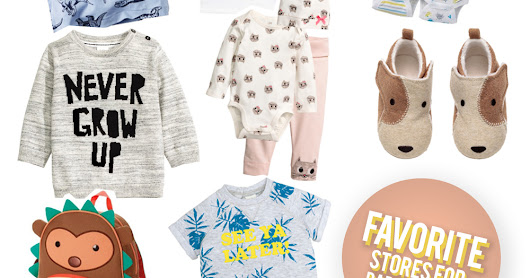 Favorite Stores for Baby Clothes