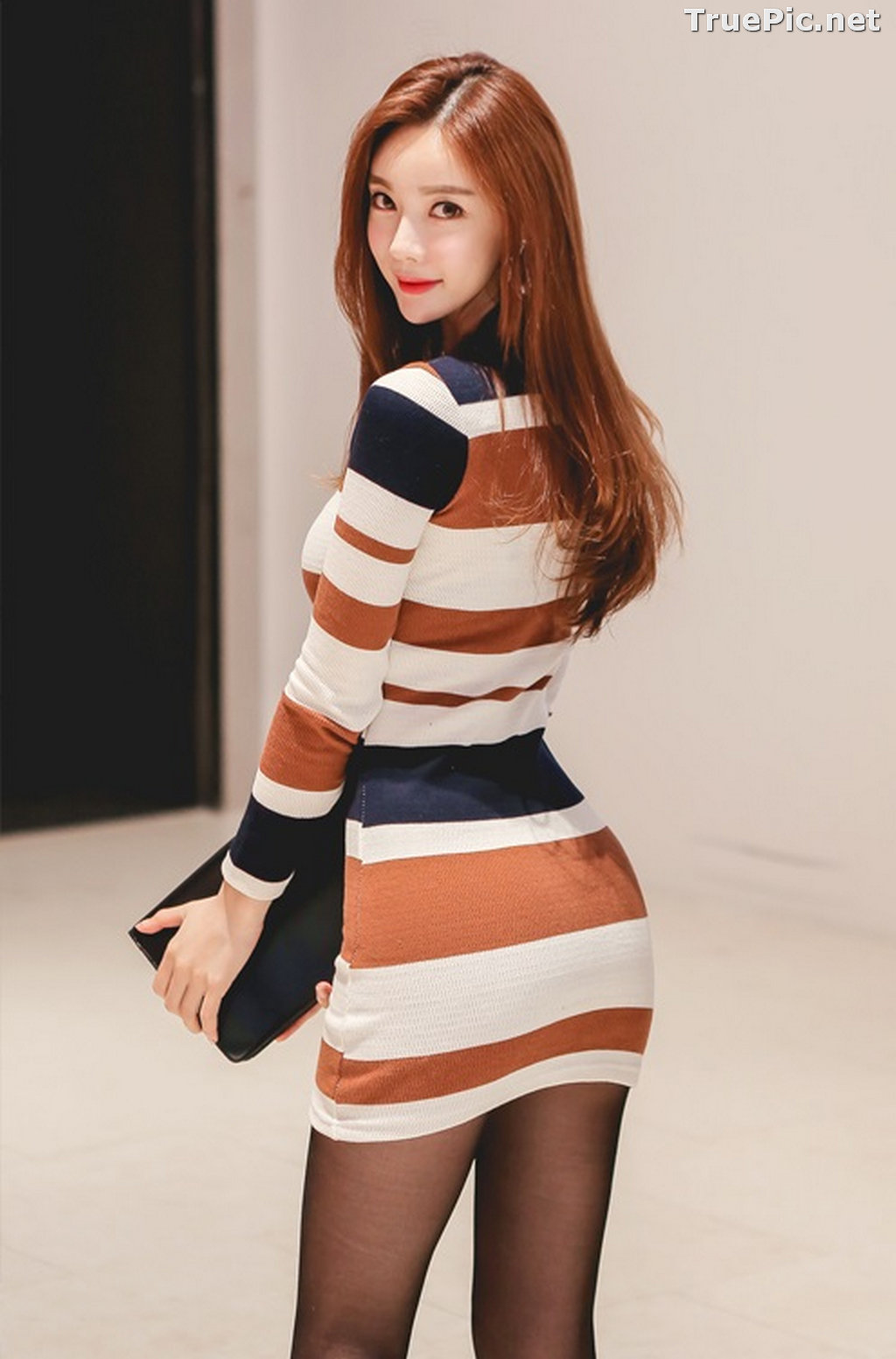 Image Korean Fashion Model – Hyemi – Office Dress Collection #2 - TruePic.net - Picture-7