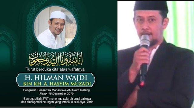 Putra Hasyim Muzadi Meninggal, Polda Jatim Jelaskan Kronologi