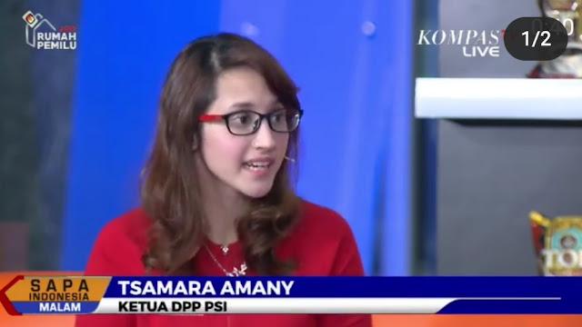 Tsamara: Kalau Mahasiswa Mengkritik Lalu Diserang Pribadi, Kapan Politik Bisa Regenerasi?