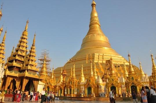 Chùa Vàng Shwedagon - Địa Danh Khó Bỏ Qua