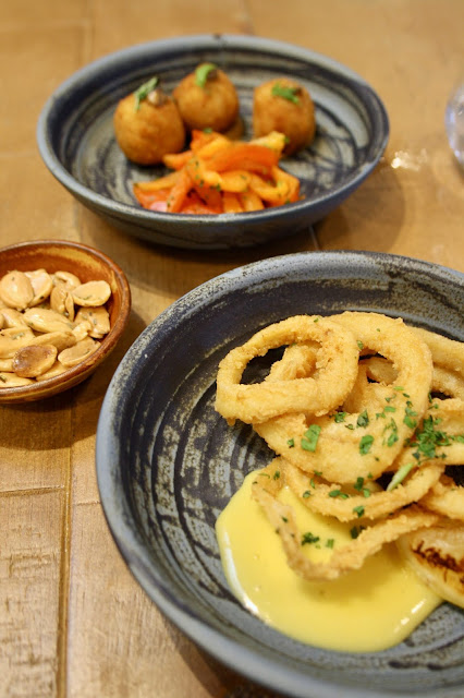 Leicester Sonrisa food review dinner Argentinian