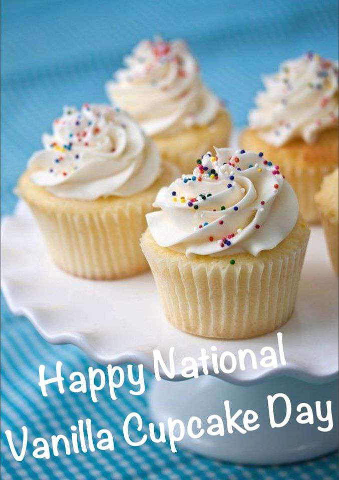 National Vanilla Cupcake Day Wishes Awesome Images, Pictures, Photos, Wallpapers