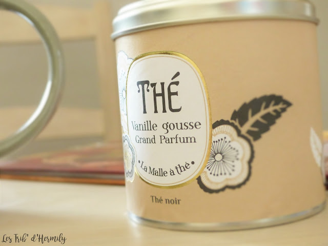 Thé tea time Damman Frères Kusmi Tea Lifestyle Vanille