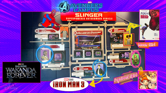 Marvel-Studios-Avengers-Campus-Disneyland-Opening-Spider-Man-Web-Easter-Eggs-Lunella-Lafayette-Moon-Girl-Doreen-Green-Squirrel-Girl-Onome-Wakanda