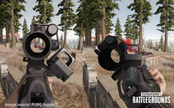 Canted Sight in PUBG Mobile