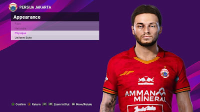PES 2021 Faces Mark Klok by SR