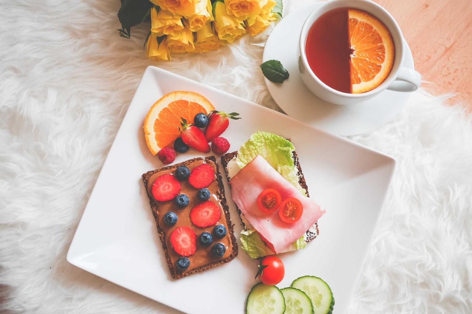 الأكل الصحي لتخفيف الوزن