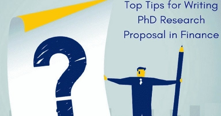 Phd finance research proposal