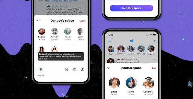 تويتر تطلق Twitter Spaces لهواتف الأندرويد بديل كلوب هاوس
