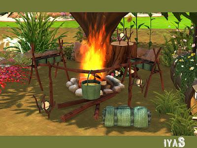 Camping set Туристический набор для The Sims 4 Этот набор для кемпинга поможет вам подготовиться к следующему семейному походу. Все необходимое для любого приключения на свежем воздухе. В набор входят 5 предметов, каждый предмет имеет 4 цветовых вариации.