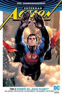 Superman: Action Comics tom 2 okładka