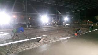 Project pengerjaan Floor Hardener BSD Tangerang