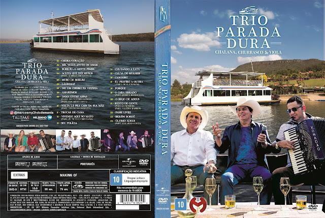 Capa DVD Trio Parada Dura Chalana, Churrasco & Viola (Oficial)