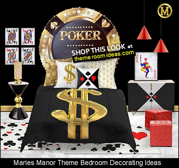 casino bedroom ideas poker decor playing cards art playing cards pillows games room decor