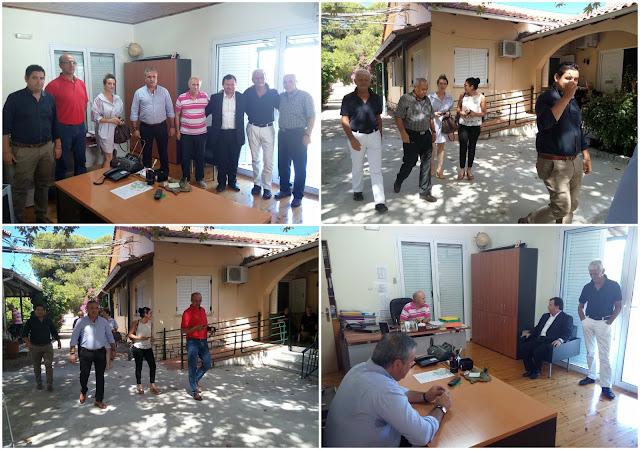 Κλιμάκιο της ΝΔ Θεσπρωτίας στα γηροκομεία Ηγουμενίτσας και Φιλιατών (ΒΙΝΤΕΟ)