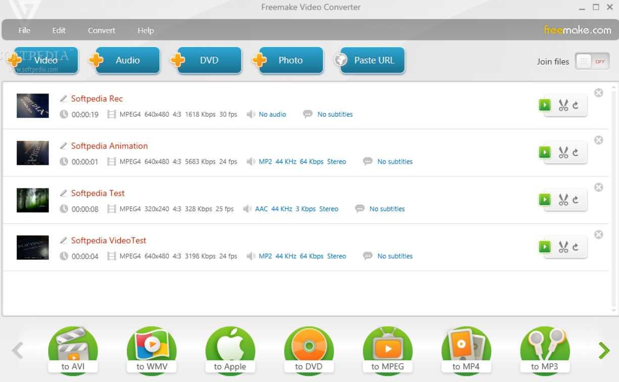 Freemake Video Converter 4.1.10.521 poster box cover