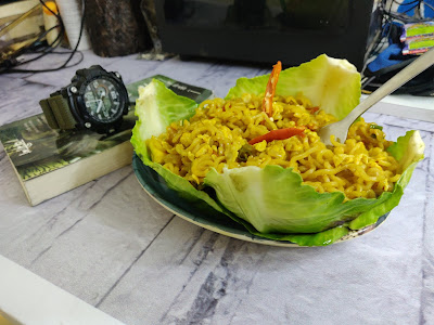 egg fried Maggi recipe