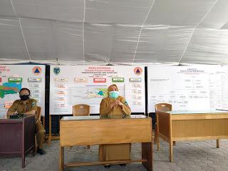 Gelar Konferensi Pers , Ini Kata Tim Gugus Tugas Covid-19 Kabupaten Batanghari Terkait Pasien yang Positif Ravid Test