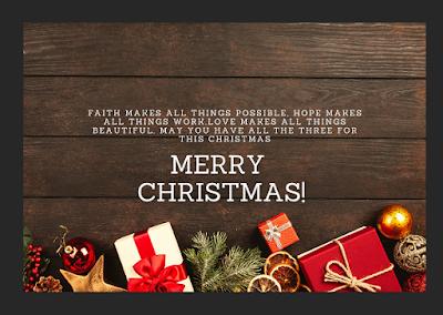 Ucapan Selamat Natal Inggris