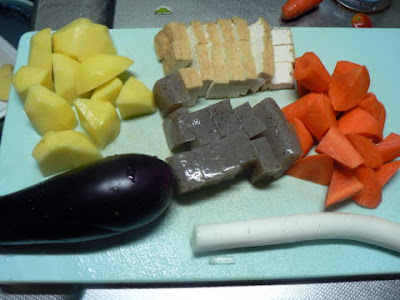 汁用の野菜