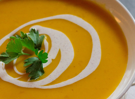 Creamy Pumpkin Puree
