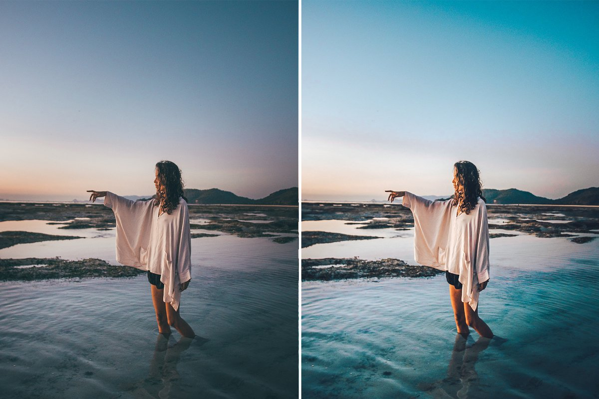Summer Premium Lightroom Preset (DNG, XMP)
