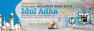 Spanduk Idul Adha 1442 H 2021 Format CDR