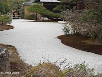 Zen garden, Kinkaku-ji Garden - Kyoto, Japan