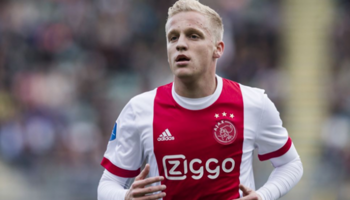 Real Madrid agree to a £47million deal with Ajax for Donny van de Beek