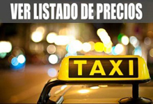 lista precios taxi sevilla