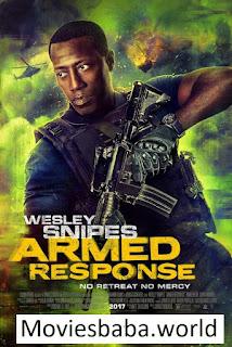 Armed Response (2017) Full Movie Dual Audio Hindi BRRip 720p