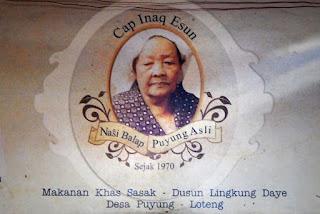 Nasi Balap Puyung Inaq Esun