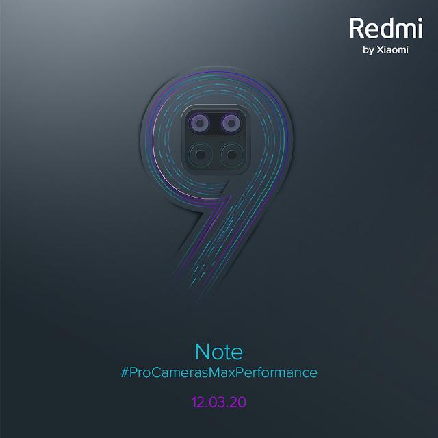 Redmi Note 9 & Pro भारत में 12 मार्च को होगा लॉन्च, यह हो सकता है खासियत