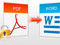 Cara Merubah (Convert) File PDF ke Word