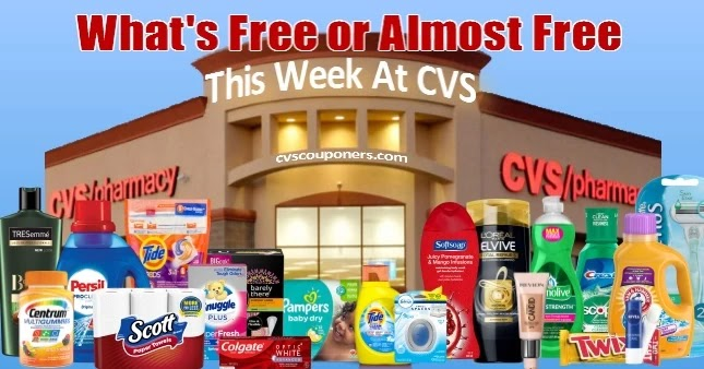 CVS FREE or Almost FREE Coupon Deals 4/11-4/17