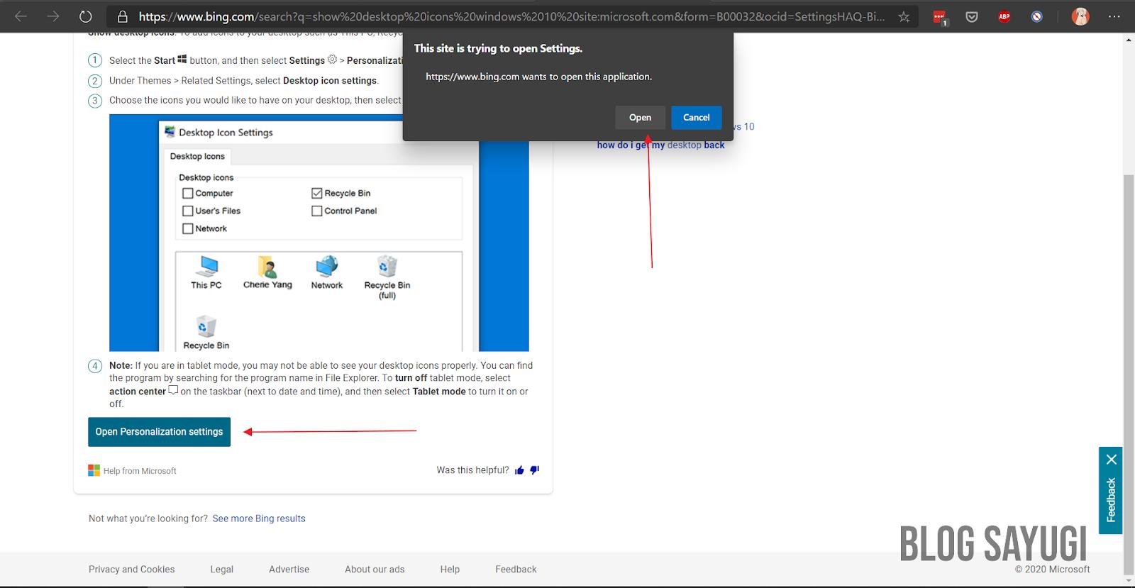 Cara Menghilangkan Recycle Bin Di Windows 10 - BLOG SAYUGI