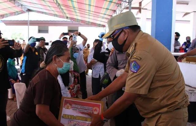 Astaga! Oknum Pejabat Diduga Tolak Bantuan Pemprov Untuk Warga Berdampak Covid19 di Kepulauan Sangihe